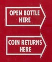 DP4  Bottle Opener/Coin Return
